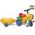 Smoby Kerti traktor utánfutóval - pedálos