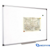 VICTORIA Törölhető fehértábla, nem mágneses, alumínium kerettel, 90 x 180 cm