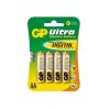 GP Ultra Plus Alkáli Ceruza Elem AA 4 db