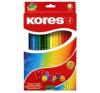 KORES HEXAGONAL színes ceruza, hatszögletű, 36 db/doboz színes ceruza