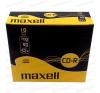 Maxell CD-R 700MB 52X Slim Case (10) írható és újraírható média