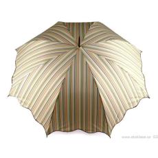Esernyő kilövős botfogantyús ívelt szélekkel