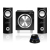 Media-Tech Media-Tech MT3325 2.1 hangszóró Black