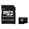 Silicon Power Silicon Power 8GB Micro Secure Digital Card + SD adapter CL6