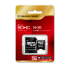 Silicon Power Silicon Power 16GB Micro Secure Digital Card + 2 adapter CL4