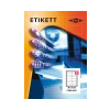 Etikett címke pd 105x48 szegéllyel 1200 db/doboz