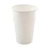 Propack Műanyag fehér pohár 5 dl