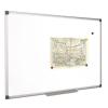 VICTORIA Mágneses, törölhető fehértábla, alumínium keret,1 00 x 200 cm