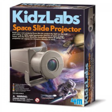 4M űr diafilm vetítő készlet kréta, festék és papír