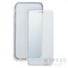 4smarts 360° Védő Szett Huawei P10 Lite szilikon hátlap tok + üveg védőfólia, átlátszó