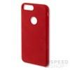 4smarts Cupertino Apple iPhone 7 Plus szilikon hátlap tok, piros