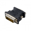 4world Adapter DVI-I [M] (24+5) > VGA [F]  fekete