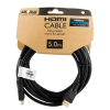 4world HDMI - HDMI kábel High Speed with Ethernet (v1.4)  3D  HQ  BLK  5m