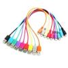 4world USB 2.0 kábel MICRO 5pin  AM / B MICRO transfer/töltőhöz 1.0m lila