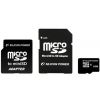 Silicon Power 8GB Micro Secure Digital Card + 2 adapter CL10