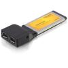 DELOCK ExpressCard - 2x FireWire 1394