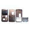 Samsung G800 középső keret, csúszka, billentyűzet ezüst