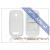 Nokia Nokia Lumia 610 szilikon hátlap - S-Line - fehér
