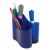 ICO lux írószertartó áttetsző kék (1 db/DB)