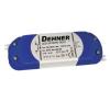 Conrad Dehner Elektronik feszültséggenerátoros LED tápegység,  bútorba építhető, 24V/DC, 0,83A, 20W, LED 24V20WSELV világítás