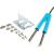 Conrad Star Tec Tweezer 21509 SMD Forrasztó és kiforrasztó páka készlet 230V/60W