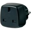 BRENNENSTUHL Angol dugó átalakító adapter, fekete, 1508530