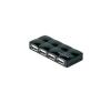 Belkin 4 portos hub hálózati adapterrel(972520) hub és switch