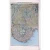 Stiefel Eurocart Kft. A Badacsony vidék bazaltkúpjainak földtani térképe fakeretben