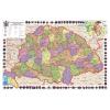 Stiefel Eurocart Kft. A Magyar Szent Korona országai térképe, fémléces
