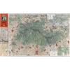 Stiefel Eurocart Kft. A Mátra térképe fakeretben (1933)