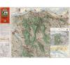 Stiefel Eurocart Kft. A Gerecse és Gete térképe fakeretben (1936) térkép