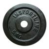 Insportline Acél súlyzótárcsa  5 kg