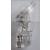 Izzó 12V 5W üvegfejű T10