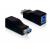DELOCK Adapter USB 3.0-A female > USB 3.0-B female
