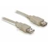 DELOCK USB hosszabbító kábel 2.0 A-A 15 cm