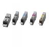 MMC Canon CLI-521BK Chipes Fekete patron (10ml) nyomtatópatron & toner