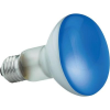 Conrad R80 230V reflektoros spot izzó, kék, E27, 60W, Ø 80 mm x 118 mm