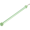 Conrad Hidegkatódos lámpa 550 V 3,6 W Zöld