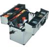 Toolcraft Alumínium szerszámos koffer, méret (H x Sz x Ma) 450 x 225 x 320 mm, alumínium, Toolcraft 821028