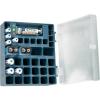 Conrad energy Akku box 4 db 2400 mAh-s ceruza-, 4 db 700 mAh-s mikro- és 2 db 160 mAh-s 9 V-os akkuval