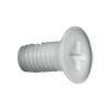 Toolcraft süllyesztett fejű, egyenes hornyú műanyag csavar, M6 x 60 mm, DIN 965, 10 db
