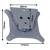 B-Tech LCD/TFT monitor tartó  BT-7510