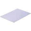 Modelcraft polisztirol lemez 330 x 230 x 0,5 mm, fehér