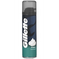 Gillette Menthol Borotvahab 200 ml férfi borotvahab, borotvaszappan