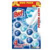 BREF Power Aktiv toalett illatosító 2 x 51 g Ocean Breeze (golyós)