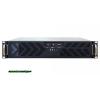 """Chieftec UNC-210T-B 19"""" 2U 400W Server ház 400W,Black,1x5,25"""",4x3,5"""",ATX,2xUsb,557x482,6x89 mm,8x"""