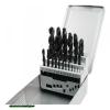 fémcsigafúró klt, HSS, DIN 338, fém dobozban;1,0-13,0mm,25 db