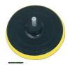 gumitányér fúrógéphez; 125mm tépőzáras, befogás: 8mm, max. 10.000 ford/perc barkácsgép tartozék