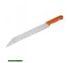 üveggyapot vágó kés, teljes/penge hossz.:480/340mm, rozsdamentes acél penge, vastagsága: 1,5mm, műanyag nyél kés és bárd