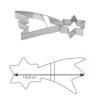 Tescoma 631116 Kiszúró forma csillag